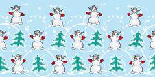 Free Fun Snowmans Stock Image - 16768941