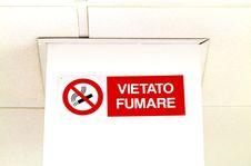 Free No Smoking Sign Royalty Free Stock Image - 16768986
