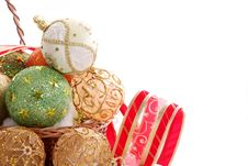 Free Christmas Balls Stock Photography - 16769082