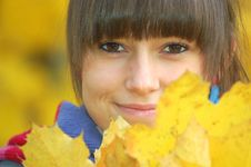Free Autumn Portrait Stock Photos - 16769593