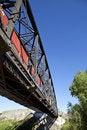 Free Steel Train Bridge Royalty Free Stock Photo - 16770465