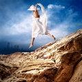 Free Girl In White Royalty Free Stock Photos - 16773588