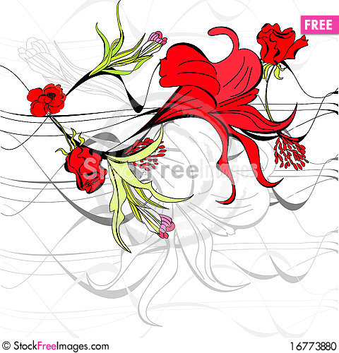 Free Template For Greeting Card Stock Photo - 16773880