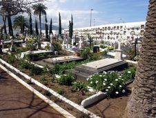 Free Cemetery On Tenerife Stock Photography - 16770102