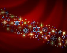 Free Abstract Christmas Background Royalty Free Stock Photos - 16770268