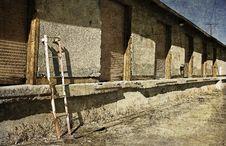 Free Old Abandoned Loading Docks Stock Image - 16770391