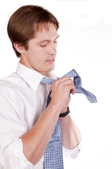 Free Man Tie Stock Photos - 16770973