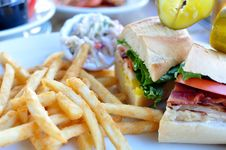 Free Club Sandwich Royalty Free Stock Photo - 16771895
