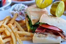 Free Club Sandwich Stock Images - 16771904