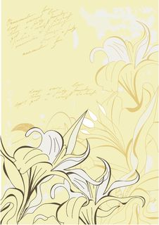 Free Vintage Floral Background Stock Photos - 16773893