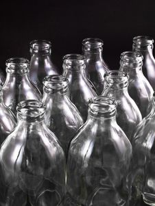 Free Empty Bottles Stock Photography - 16776502