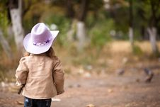 Free Little Cowgirl Stock Photos - 16776513