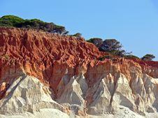 Free Red Seashore Stock Photography - 16777042