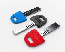 Free Multicolored Keys Stock Photos - 16777063