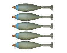 Free Mortar Shells Royalty Free Stock Photos - 16777178
