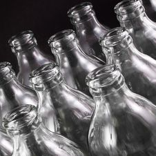 Free Empty Bottles Royalty Free Stock Image - 16777256