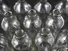 Free Empty Bottles Royalty Free Stock Photography - 16777567