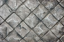 Pattern Stone Floor Stock Image