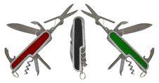 Free Pocket Knives Stock Photography - 16777922