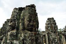 Free Bayon Temple At Angkor Siem Reap Stock Images - 16778004