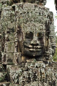Free Bayon Temple At Angkor Thom Royalty Free Stock Photos - 16778098