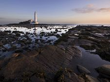 Free St Mary S Lighthouse Royalty Free Stock Photos - 16779758