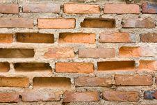 Free Cracked Brick Wall Royalty Free Stock Photos - 16779918