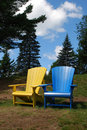 Free Two Beach Chairs Royalty Free Stock Photography - 16783277
