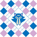Free Tartan Wolf Logo Royalty Free Stock Photography - 16784927