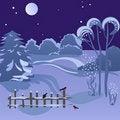 Free Winter Night Stock Photos - 16789203