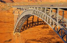 Glen Canyon Bridge Stock Photo