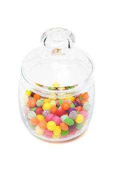 Free Candy In A Glass Jar Stock Photo - 16780420
