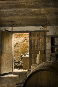 Free Old Abandoned Wine Cellar Stock Photos - 16780603