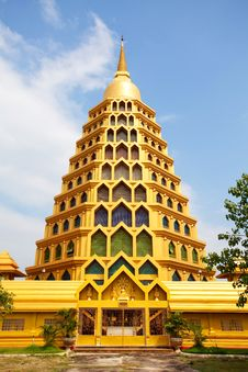Free Stupa In Temple Royalty Free Stock Images - 16780609