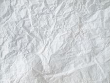 Free White Crumpled Paper Stock Photos - 16780613