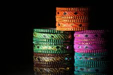 Free Bangles Background Stock Photos - 16780863