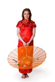 Free China-style Woman Stock Photography - 16781072