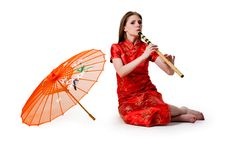 Free China-style Woman Royalty Free Stock Photography - 16781117