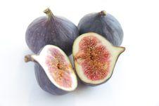 Free Fresh Figs On White Background Stock Photo - 16781680