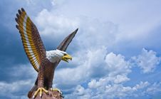 Free Eagle Sculpture Royalty Free Stock Photography - 16781697