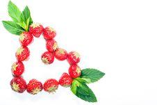 Free Strawberry Heart V2 Stock Photo - 16782070