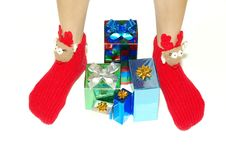 Free Christmas Box Gifts Stock Photos - 16782133