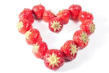 Free Strawberry Heart Stock Images - 16782134