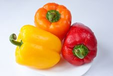 Free Capsicum. Sweet Peppers Stock Image - 16782151