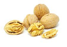 Free Walnuts Royalty Free Stock Image - 16782536