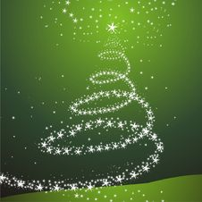 Christmas Or New Year Tree Stock Photo