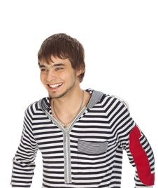 Free Attractive Guy Laughs Royalty Free Stock Photos - 16782828