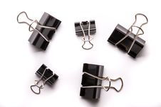 Free Binder Clips Stock Images - 16783424