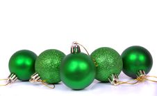 Free Christmas Fir-tree Toys Stock Images - 16783434