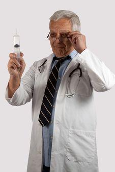 Free Senior Man Doctor Stock Image - 16784511